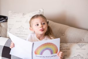 Mama connection course, through my heart and eyes, mindful journal for kids